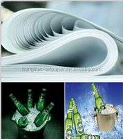 beer bottle label raw material