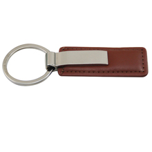 2017 Best selling promotion custom design leather keychain keyring