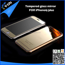 "For iPhone 6 4.7"" Inch 3D Edge Metal Colorfull Tempered Glass Screen Protector Mirror Film For iPhone 6, iphone 6 plus"