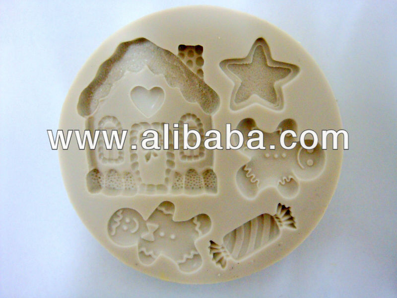 Sugarcraft silicone mold Fondant mould Cooking Set