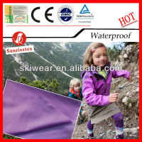 100% Polyester Waterproof PVC Coated Fabric for Outdoor Clothing