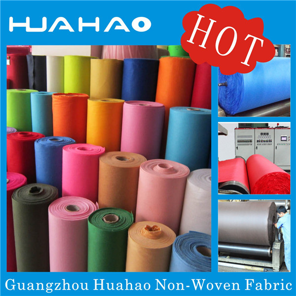 High quality flocking PP spunbond nonwoven fabric for bag,mattress,packing,upholstery