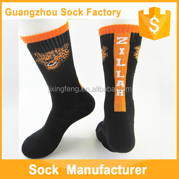 Terry Socks Comfortable Design High Quality OEM Dry Fit Sublimation Printing Crew Football Socks