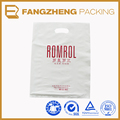 wholesale customized own logo plastic die cut bag