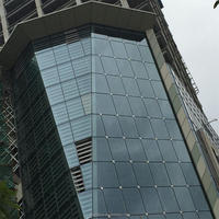 Aluminum curtain wall panel for Commercial and residential Building