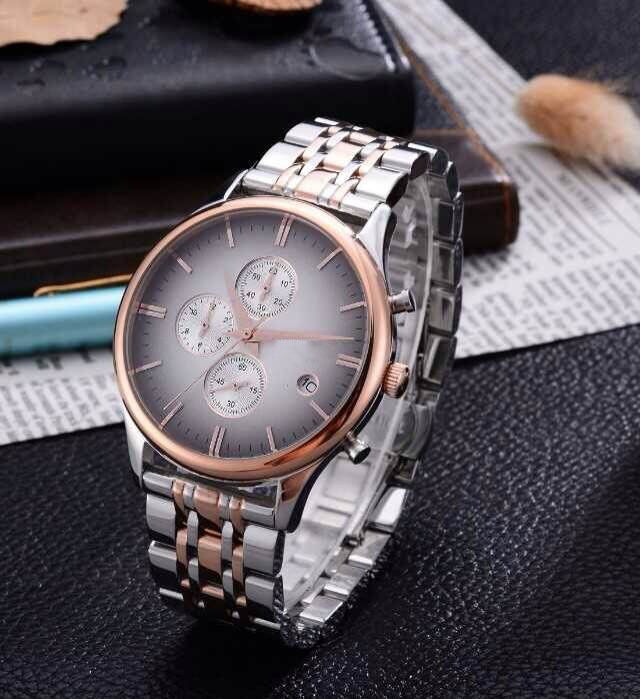 two hands wristwatch slim stone quartz watch with interchangeable straps