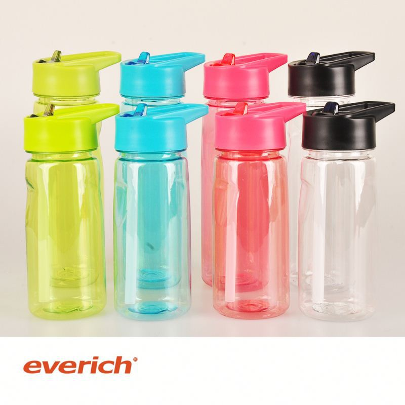new style reusable plastic clear plastic bottle water