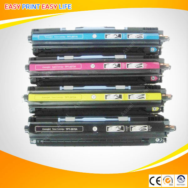2670 2671 2672 2673 compatible toner cartridge for HP laserjet 3500/3500N/3550/3550N