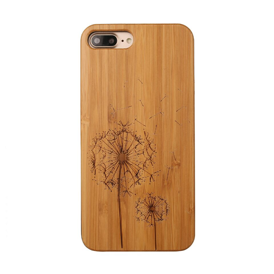 Full bamboo wood luxury high quality phone case ,for iphone 8 case ,for iphone 8 carbonized bamboo