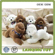 White And Brown Poodle Dog Plush Toys