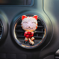 Factory Directly Sell Crystal Tiger Car vent clip air freshener, Perfume Accessories car vent air freshener