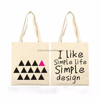 Promotion high quality customized printed small cotton bag,cotton shopping bag,cotton tote bag