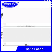 Cheap polyester satin fabric /cheap white fabric