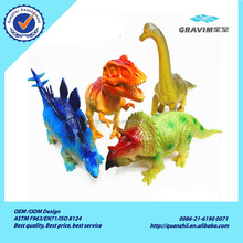 Wholesale promotional 12 kinds of real dinosaur sounding toys for children education