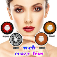 144 Models Factory Directly Best Quality Cheap Price Cosplay Crazy Contact Lenses Sharingan Contact Lens