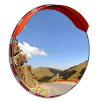 Polycarbonate Round Traffic Safety Shatter Proof Outdoor Convex Mirror