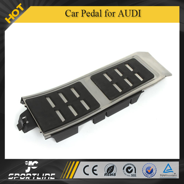 Stainless Steel Car Pedal for AUDI A4 A4L A5 A6 A6L A7 A8L Q5 A8 AT Automatic