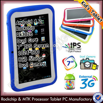 Very cheap products mykingdom kids tablet with child proof tablet case