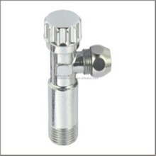 Brass Water Angle Valve Ball Type Chrome Plated