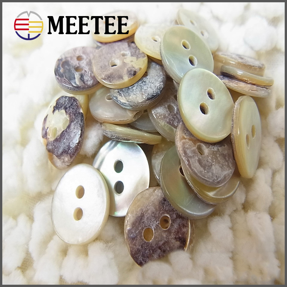 12.5mm high grade colourful natural color sweater knit shirts shell button