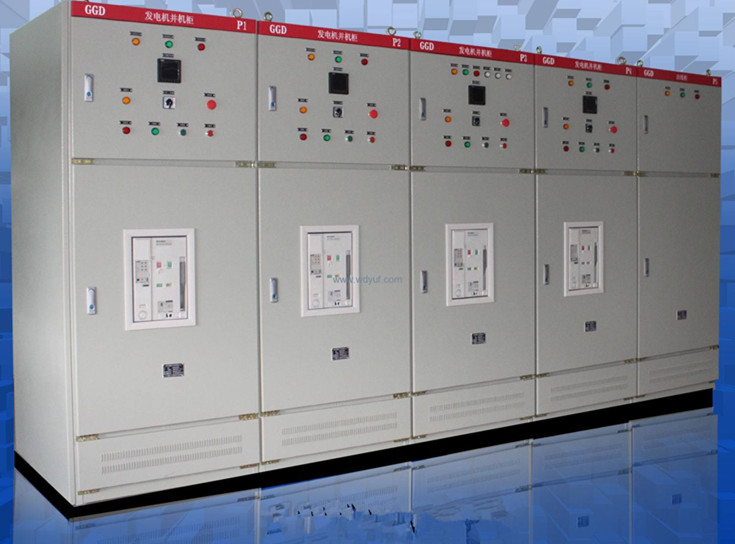 400A--3200A Synchronizing Parallel System Control Cabinet for Diesel Generator Set