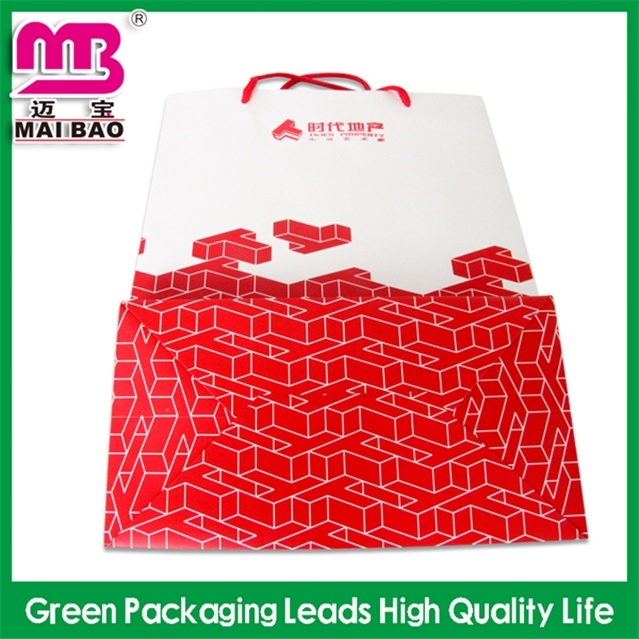 New model durable 2014 newest led paper bag for promotion gift