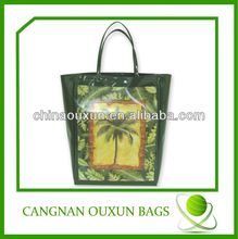 Rational construction pvc beach bag