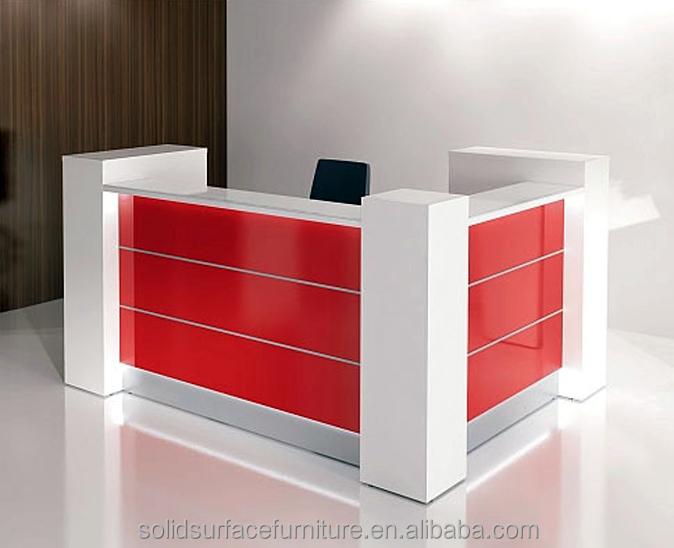 First Class Artificial Stone Modern Shop Cash Counter