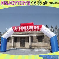 promotional inflatables inflatable finish line arch