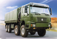Sinotruck 8*8 All-Wheel Drive Cargo Military Vehicle For Sale