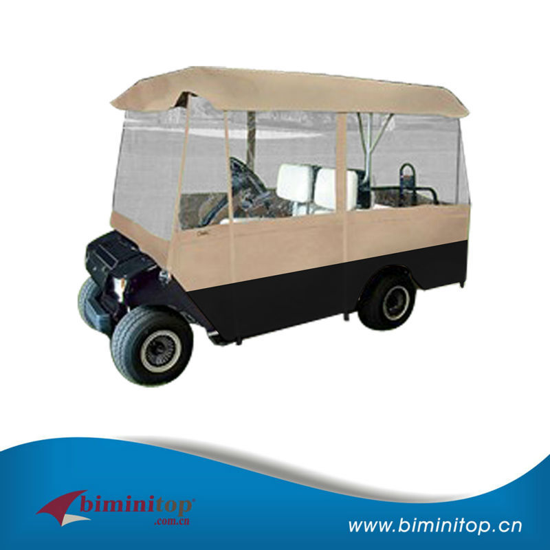4 seater electric golf cart with polyester pigment
