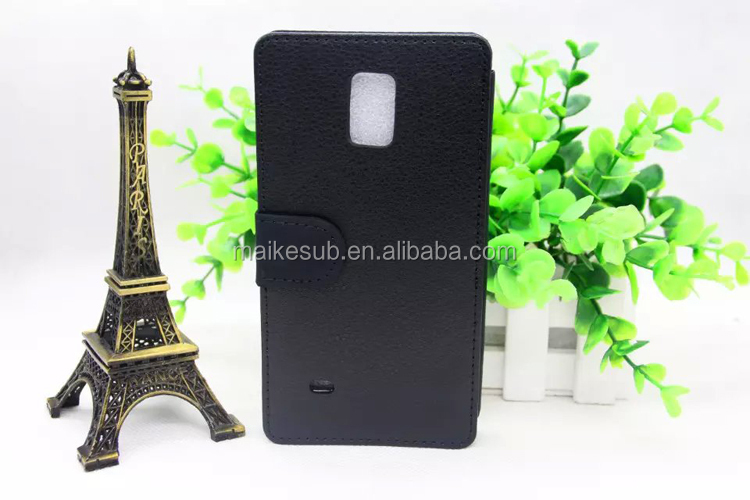 Sublimation blank cell phone cases for samsung galaxy note 4