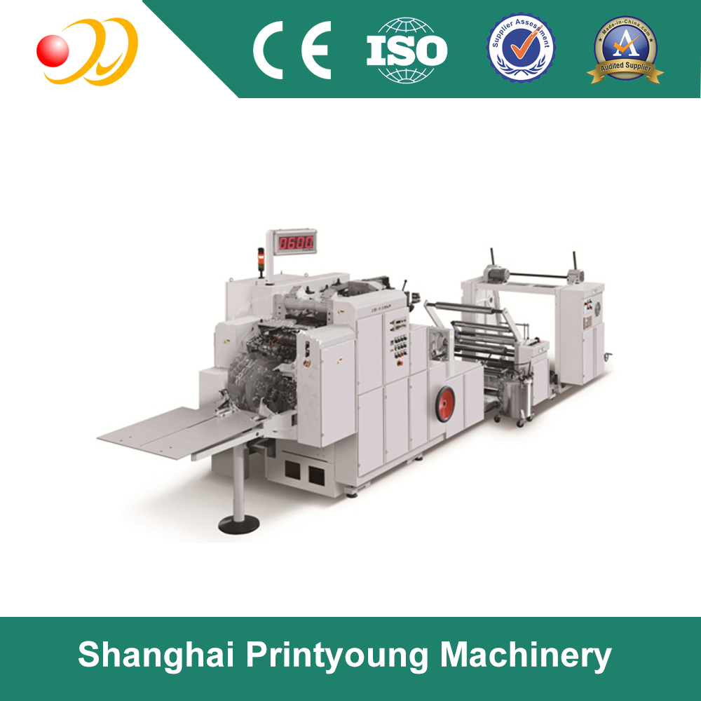 ZD-FJ06D Fast Fixed-size Square Bottom Paper Bag Making Machine / cost of paper bag making machine