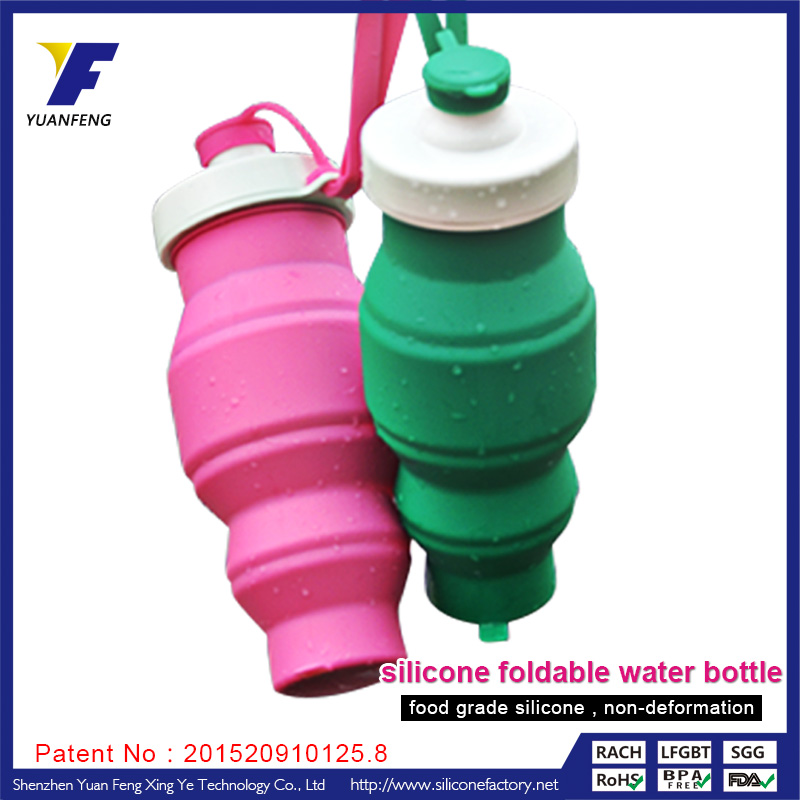 Large plastic sports Water Bottle without Labels