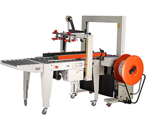 automatic carton sealing strapping machine for large production