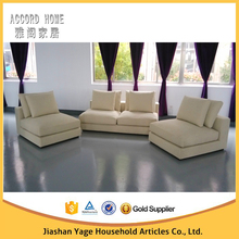 Modern italy design fabric fashion sofa set