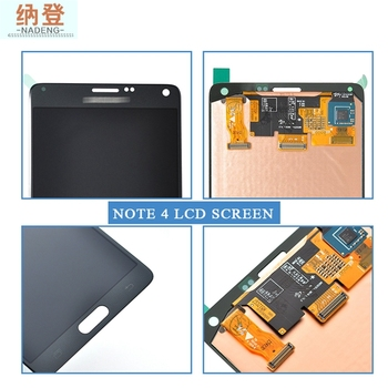 Chinese Phone Spares Lcd For Samsung Galaxy Note 4 Gt-N910, Lcd Digitizer For Samsung Galaxy Note 4 Gt-N910, Glass For Note 4
