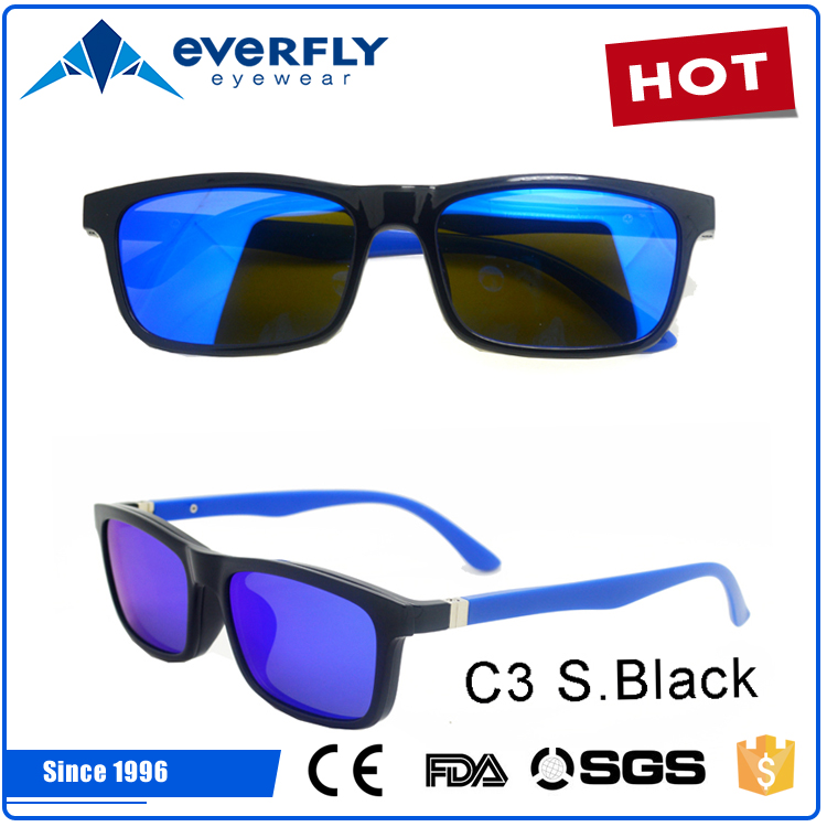 UV400 OEM fashion TAC clip on sunglasses polarized