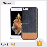 Low price china mobile phone cover case hybrid genuine leather case for Apple iPhone 7 for iPhone 6 cases
