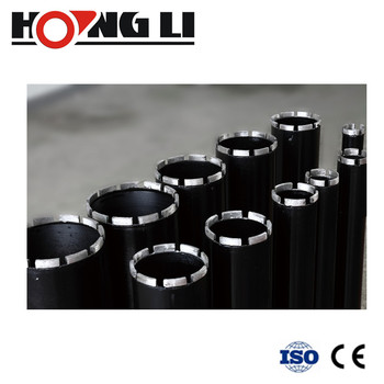 Soldered Diamond Core Drill Bits