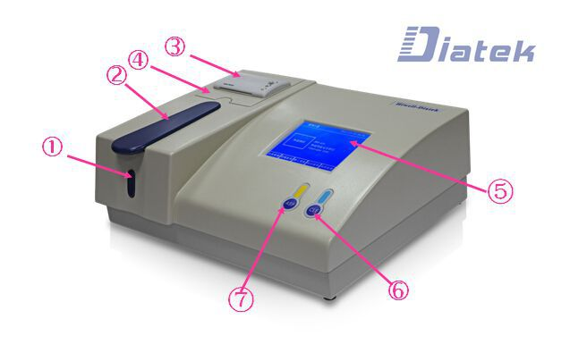 clinical lab automated biochemistry analyzer