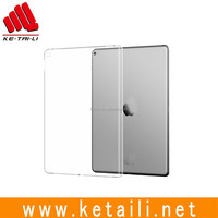 For 9.7 Inch iPad Pro Custom Design Plastic Clear Rubber Tablet Protective Skin Cover Supplier