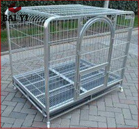 Modern Square Tube Dog Cage And Dog Cage Transport( Low Price)