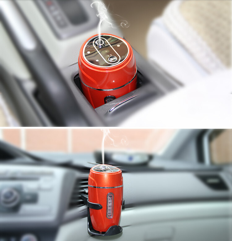 portable water bottle car perfume diffuser aroma humidifier