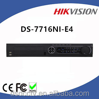 Hikvision 16 Channel H.264 Embedded Plug & Play NVR DS-7716NI-E4