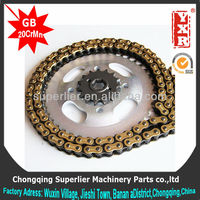 made in china best motorcycle chain,CG 150 KS MixES 16T sprocket,forging 1045 steel transmission chain sprocket