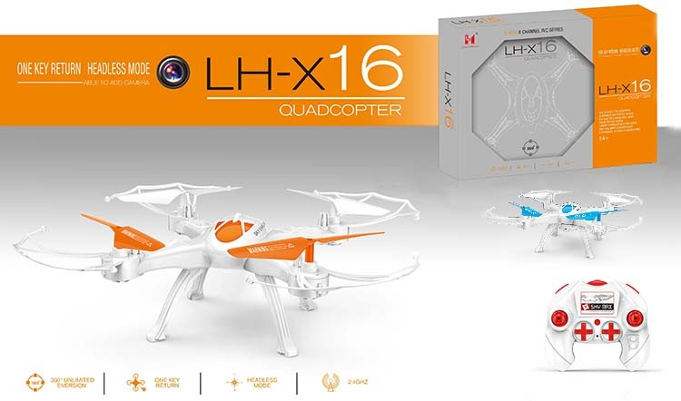 LH-X16 remote control flying ufo toy cheap price rc flying drone toys uav professional for kids