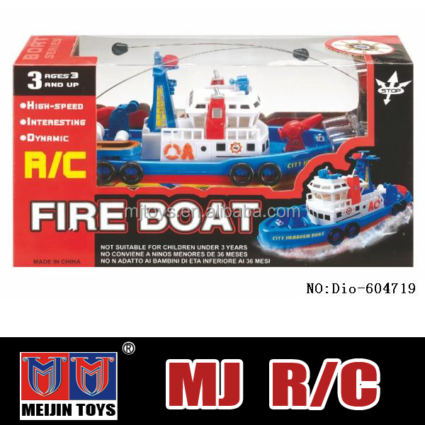 hot toys for christmas 2015 4 ch remote control boat toy high speed battery operated toy boat