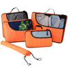 BSCI SEDEX 4P audit Set of 4 Simple Travel packing cubes