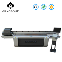 High Speed Large Format Digital Foil Printer For PVC Plastic Pad Glass